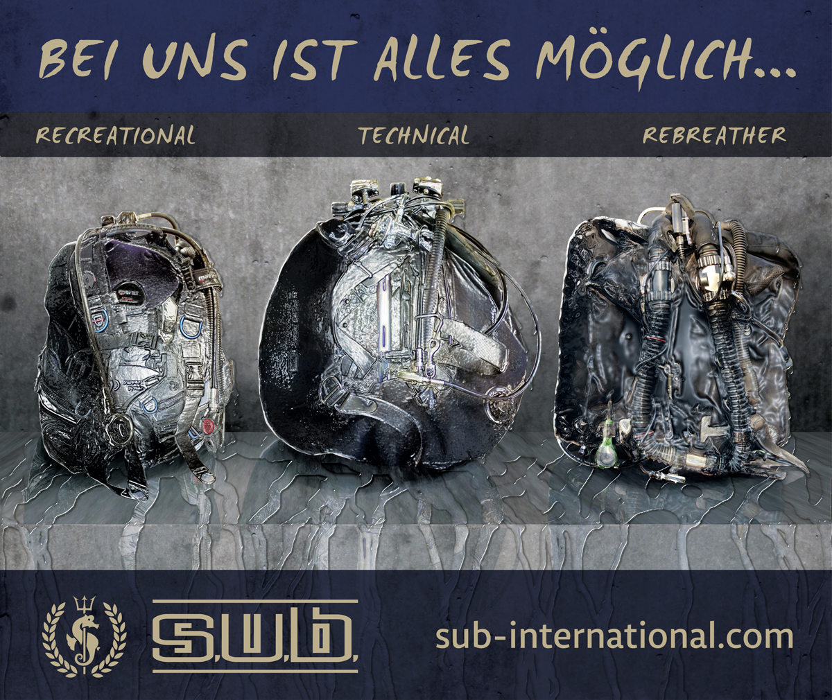 SUB International Tauchausbildung